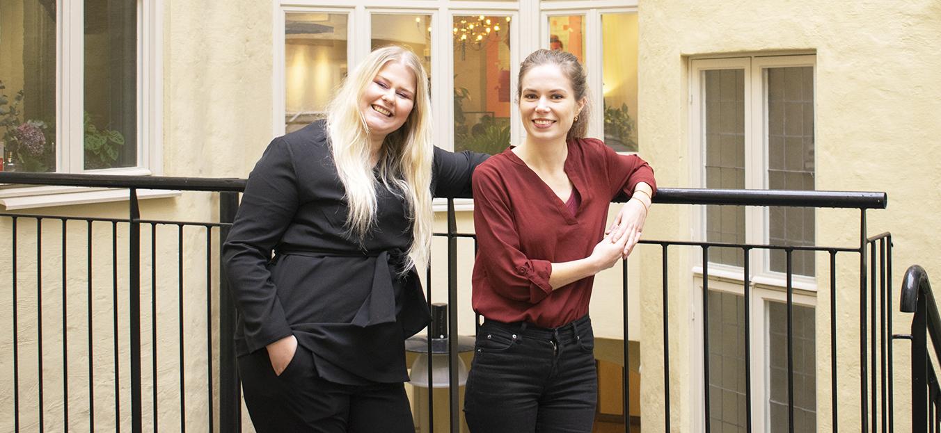 Säg hej till våra praktikanter Ida-Maria och Linnéa!