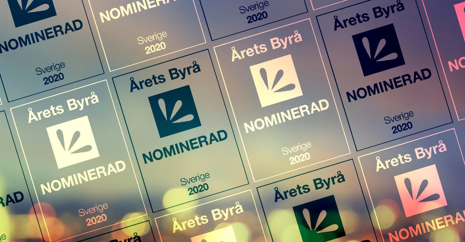 Spotlight nominerade i Årets Byrå